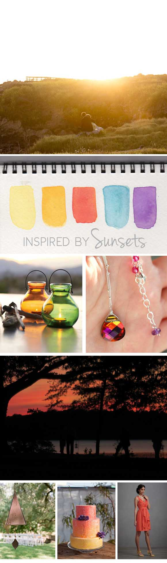 Inspired by Sunsets: Reception ideas