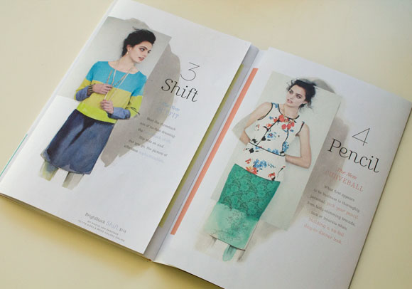 Watercolor in Catalog Inspiration