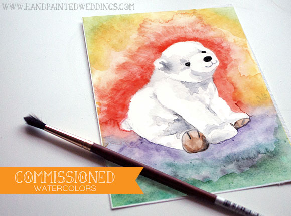 Commissioned Watercolor Baby Gifts-Part 2