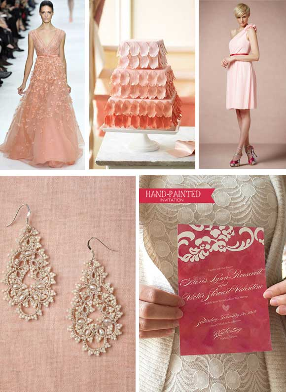 Romantic Pink Lace Inspired Reception curated by Hand-Painted Weddings