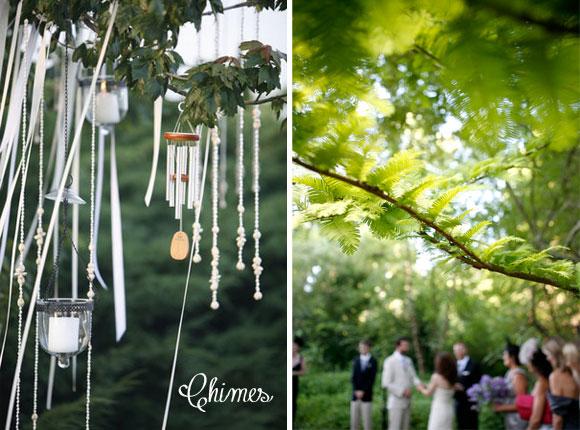 Hand-Painted Backyard Charm Wedding