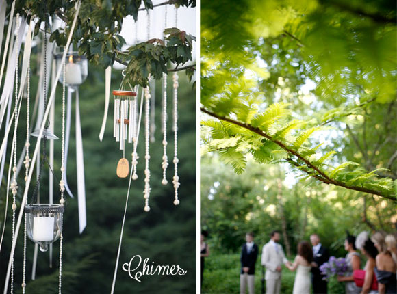 Hand-Painted Backyard Charm Wedding