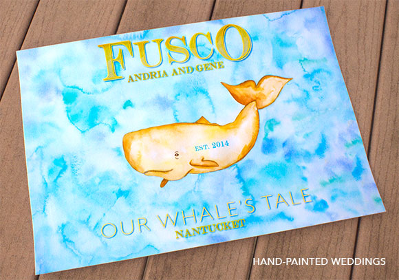 Our Whale's Tale: A Nantucket Wedding