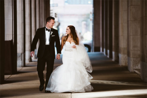 Real Wedding: Jess and Kevin at PAFA