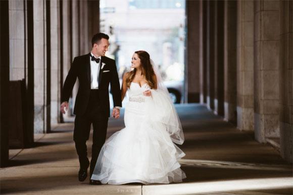 Real Wedding: Jess and Kevin at PAFA