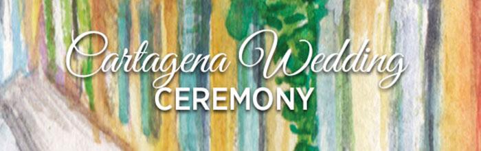 Cartagena Wedding Ceremony