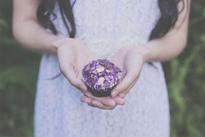 Amethyst Quartz Wedding Inspiration