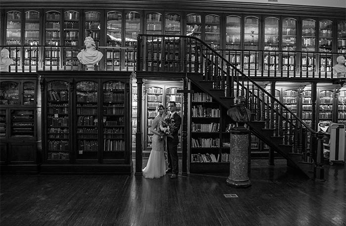Real Wedding: Literary Wedding in Philadelphia