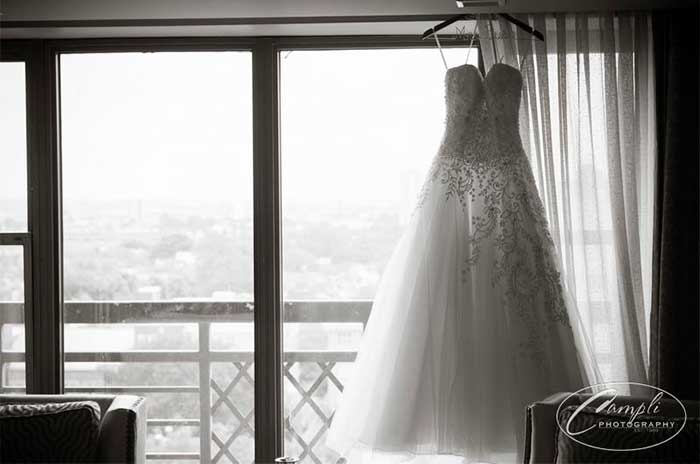 Philly wedding dress