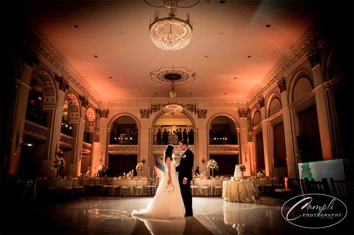 Philly wedding at Ballroom at the Ben