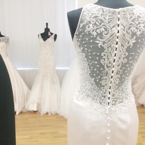 Inspired by Bridal Fashion week runway shows