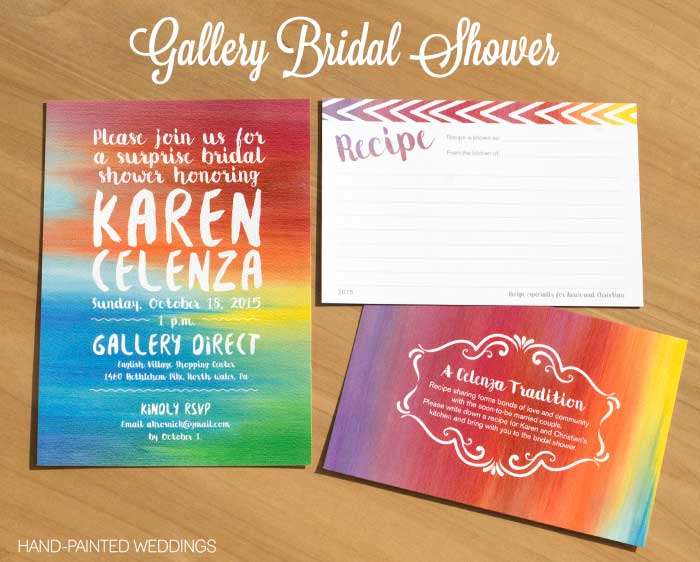 Gallery Bridal Shower