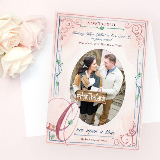 Fairytale Disney World Wedding Invitation