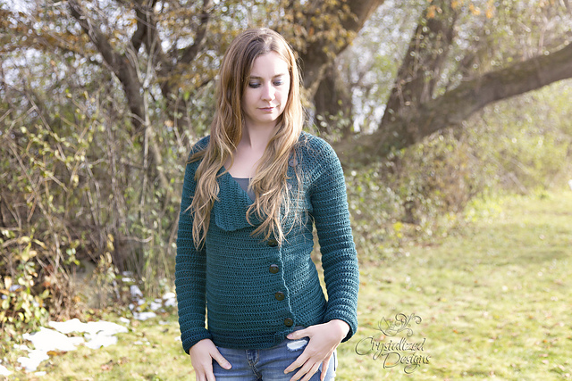 Friolera Crochet Cardigan from Crystalized Designs