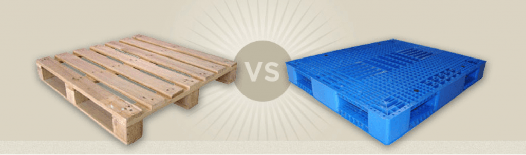 Wood or Plastic Pallet