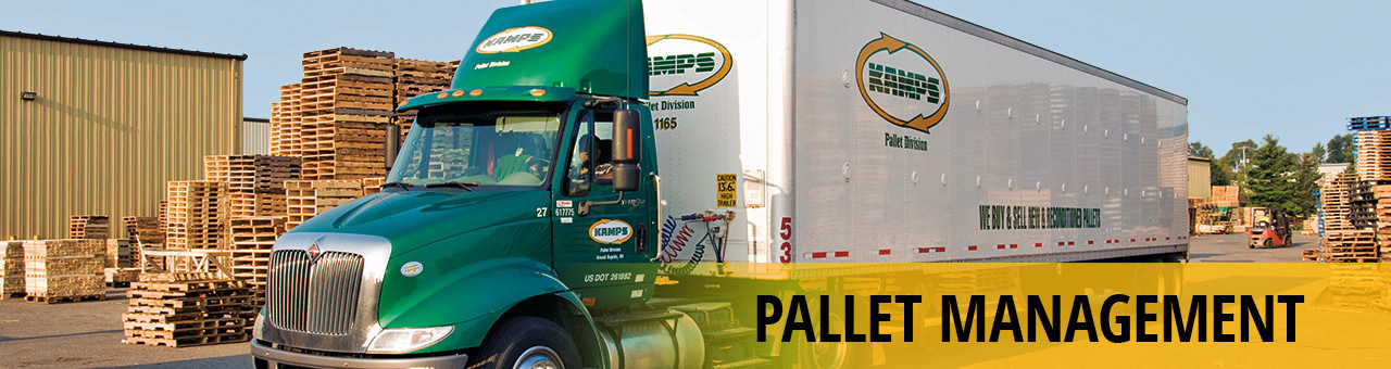 Kamps Pallets - Pallet Management