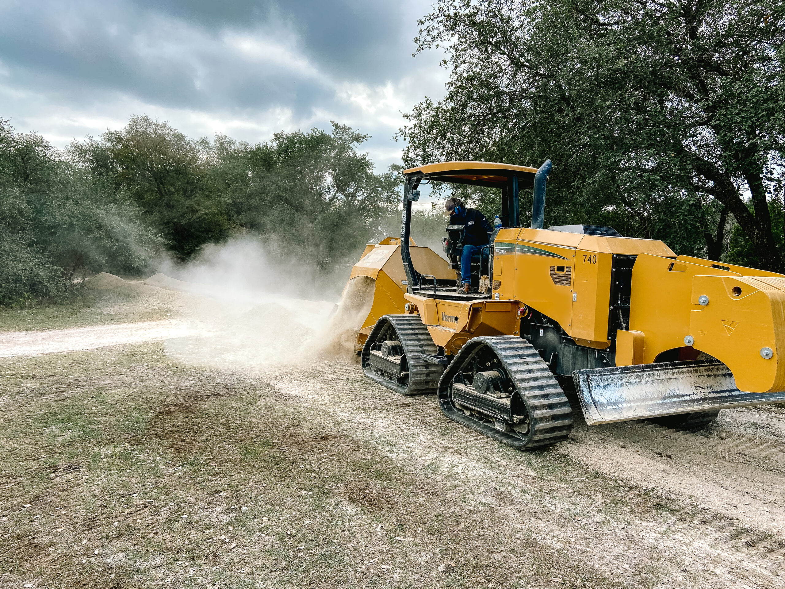 Oak Wilt Trenching Services