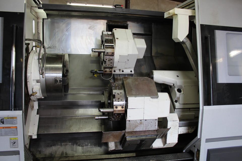 CNC Lathes Auction located Under Power in Houston, TX