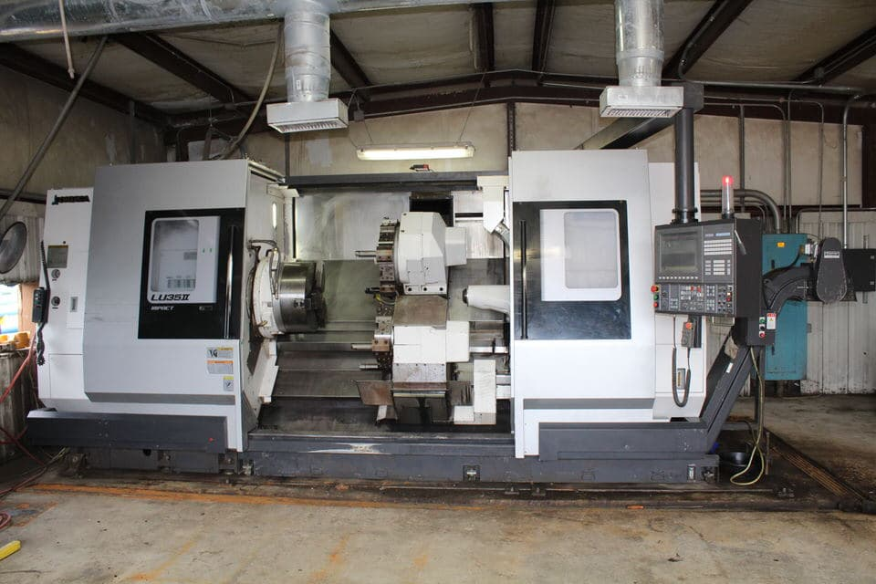 Late Model Okuma CNC Dual Turret Pipe Threading Lathes auction in Houston, TX