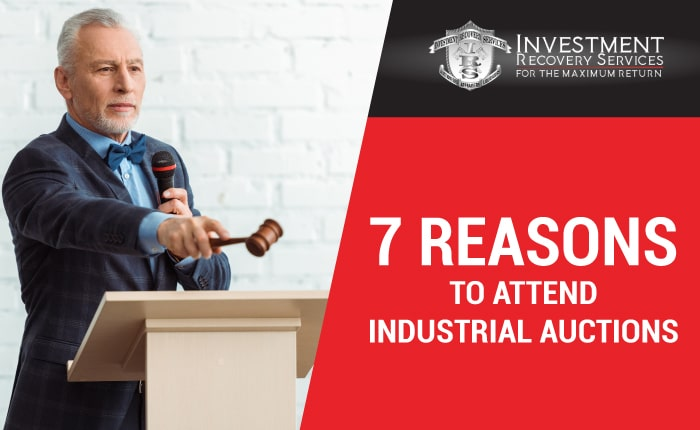 7 Reasons to Attend Industrial Auctions
