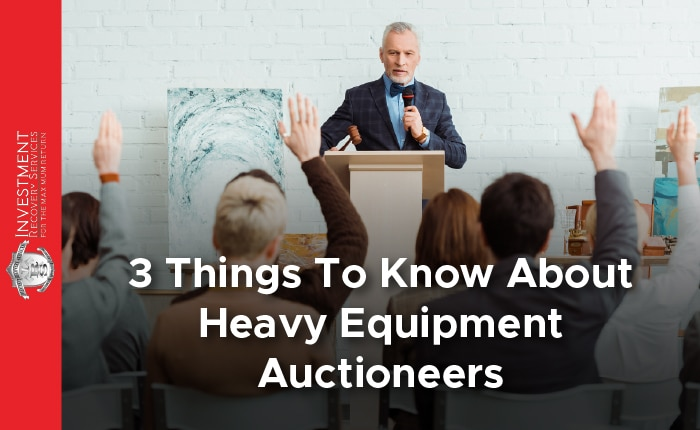 3 Things To Know About Heavy Equipment Auctioneers