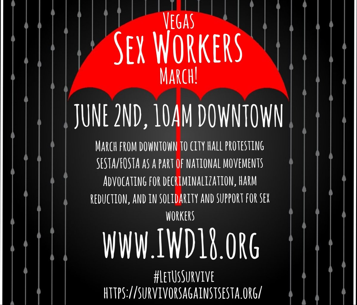 sex workers June 2 Rally