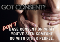 Don't base consent on what you've seen someone do