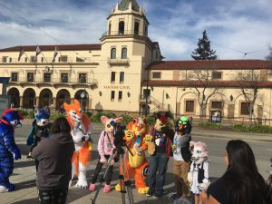 Furries converge on San Jose Convention Center for Further Confusion