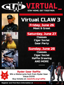 Virtual CLAW 3 on June 26-28