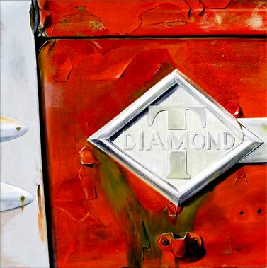 Diamond T - Oil on Canvas by William C. Turner