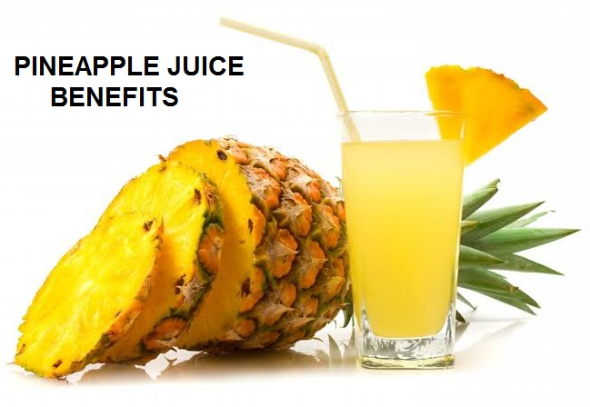 Pineapple juice health benefits