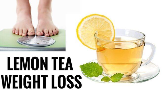 Lemon tea benefits for weight loss