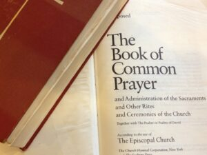 Church of the Apostles uses the Book of Common Prayer