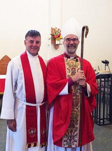 Bishop Sumner & Father Tim