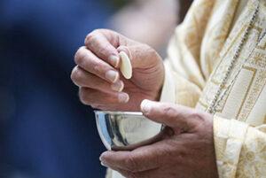 Receiving Communion