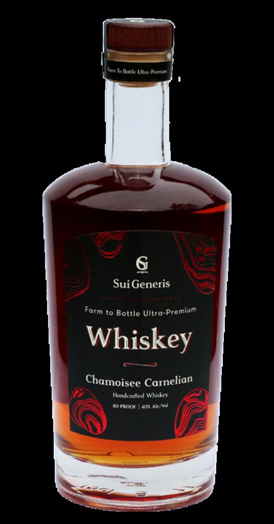 Chamoisee Carnelian Whiskey