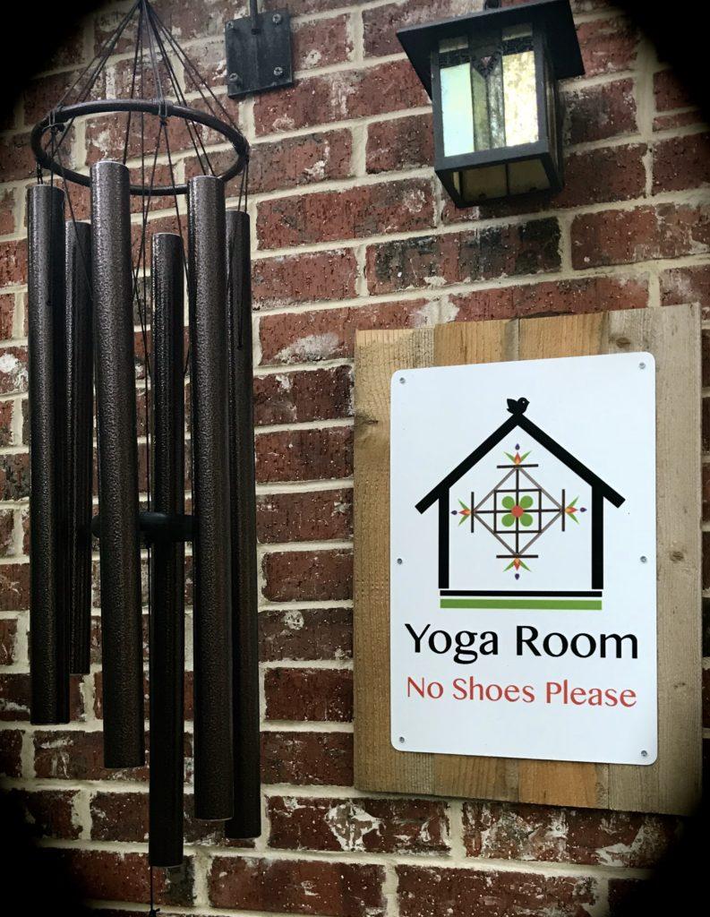 Yoga Room sign