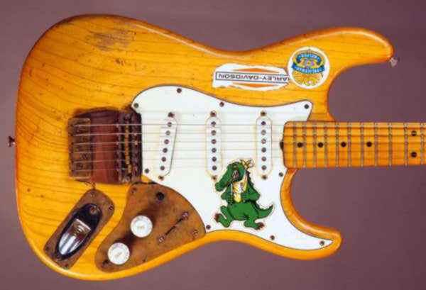 Garcia Alligator Stratocaster Guitar GRATEFUL DEAD Decals// Stickers
