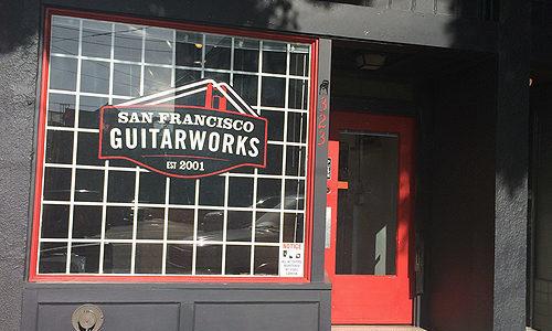 SF Guitarworks Storefront