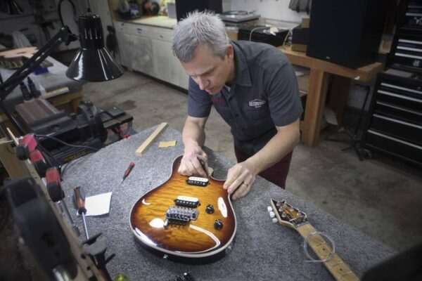 Sonoma County Guitarworks - Geoff Working