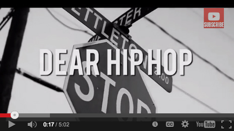 Bizzle – Dear Hip Hop