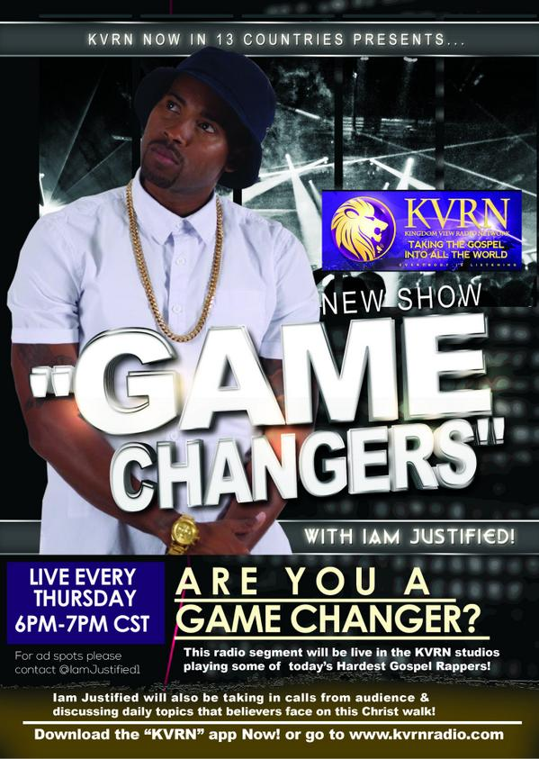 I Am Justified - Game Changers Radio Show
