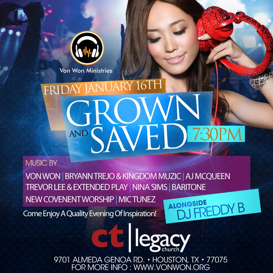 Grown & Saved at Legacy Church
