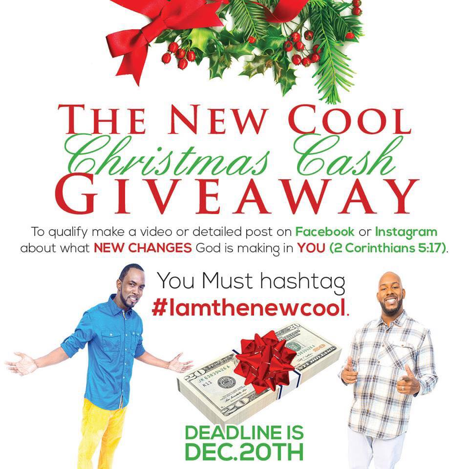 The New Cool Christmas Cash Giveaway