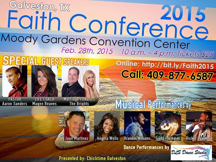 Galveston TX 2015 Faith Conference