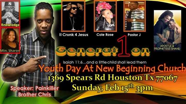 Generation 1 Youth Day at New Beginnings