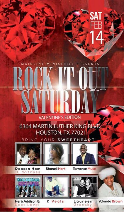 Mainline Ministries Presents Rock It Out Saturday