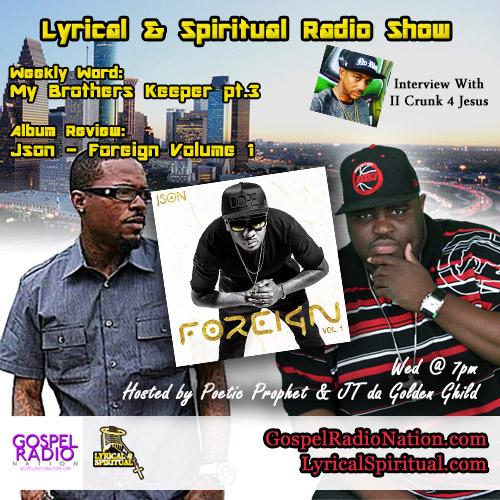 Lyrical & Spiritual Radio Show Episode 37