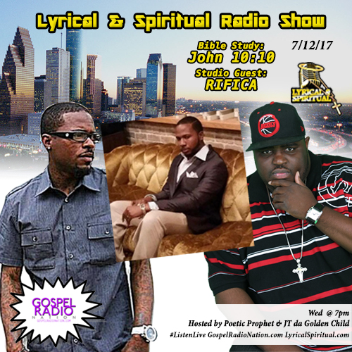 Lyrical & Spiritual Radio Show 62 with RIFICA
