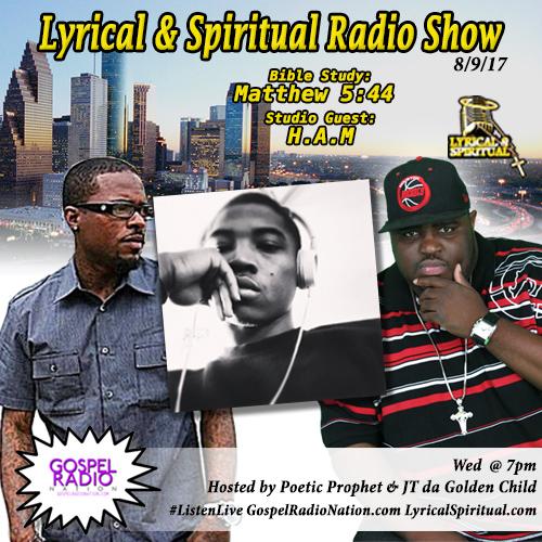 Lyrical & Spiritual Radio Show 66 with H.A.M and Urgency